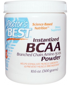 Doctor's BEST Instantized BCAA Powder (300 грамм, 60 порций)