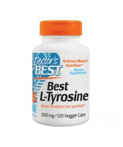 Doctors BEST L-tyrosine (120 капсул, 120 порций)