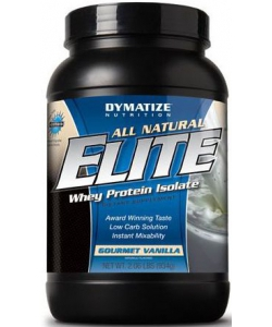 Dymatize Nutrition All Natural Elite Whey Protein Isolate (934 грамм, 28 порций)