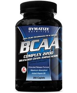 Dymatize Nutrition BCAA Complex 2200 (200 таблеток, 50 порций)