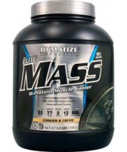 Dymatize Nutrition Elite Mass Hi-Protein Muscle Gainer (1500 грамм)