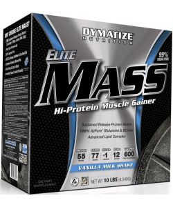 Dymatize Nutrition Elite Mass Hi-Protein Muscle Gainer (4540 грамм)