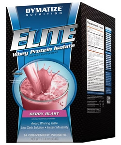 Dymatize Nutrition Elite Whey Protein Isolate (14 пак., 14 порций)