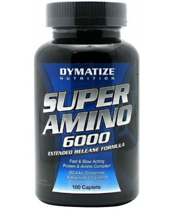 Dymatize Nutrition Super Amino 6000 (180 капсул)
