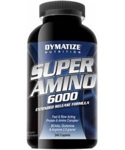Dymatize Nutrition Super Amino 6000 (345 капсул)