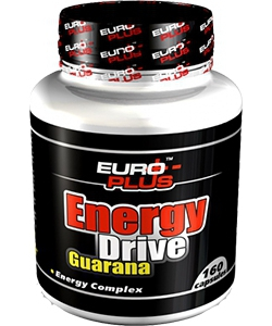 Euro Plus Energy Drive Guarana (160 таблеток, 80 порций)