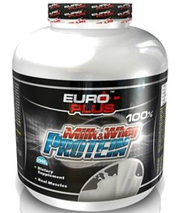 Euro Plus Milk & Whey Protein (2940 грамм)