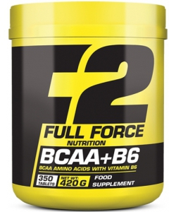 F2 Full Force Nutrition BCAA + B6 (350 таблеток, 70 порций)