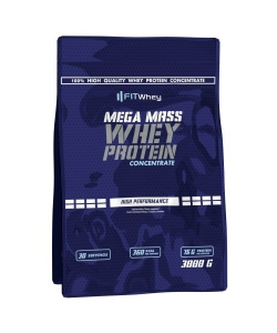 Fit Whey Mega Mass Whey Protein Concentrate (3000 грамм, 30 порций)