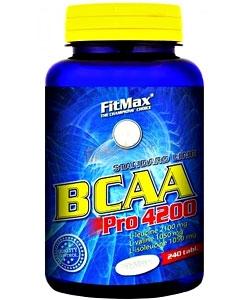 FitMax BCAA Pro 4200 (240 таблеток, 80 порций)
