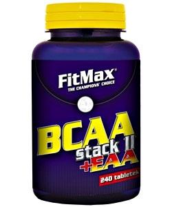 FitMax BCAA Stack II + EAA (240 таблеток, 80 порций)