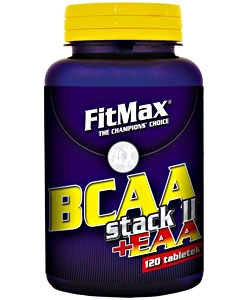 FitMax BCAA Staсk + EAA (120 таблеток, 40 порций)