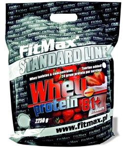 FitMax Whey Protein 81+ (2250 грамм, 68 порций)