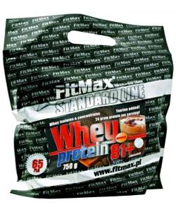 FitMax Whey Protein 81+ (750 грамм, 22 порции)