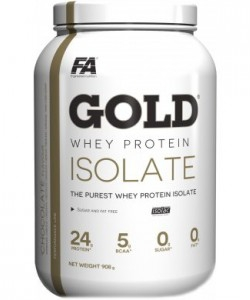 Fitness Authority Gold Whey Protein Isolate (908 грамм, 30 порций)