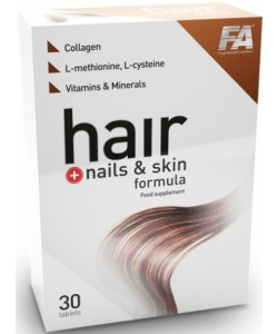 Fitness Authority Hair + Nails & Skin Formula (30 таблеток)