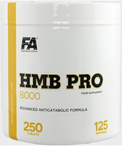 Fitness Authority HMB PRO 8000 (250 таблеток, 125 порций)