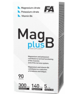 Fitness Authority Mag plus B (90 таблеток)