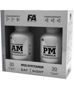 Fitness Authority Multivitamin AM PM Formula 2x90 tab (180 таблеток)
