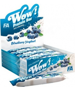 Fitness Authority Wow! Protein Bar 12x60 g (720 грамм, 12 порций)