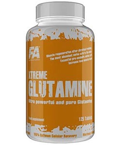 Fitness Authority Xtreme Glutamine Tabs (125 таблеток)