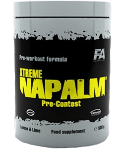 Fitness Authority Xtreme Napalm Pre-Contest (500 грамм, 50 порций)
