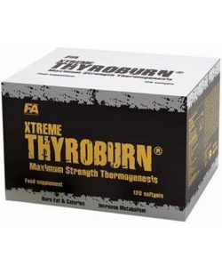 Fitness Authority Xtreme Thyroburn (120 капсул, 120 порций)