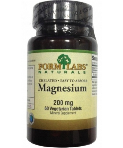 Form Labs Naturals Chelated Magnesium (60 капсул, 60 порций)