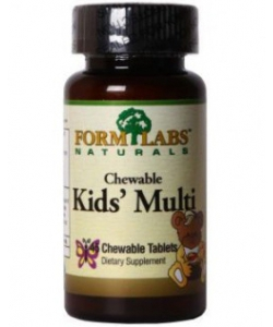 Form Labs Naturals Chewable Kids' Multi (90 таблеток)