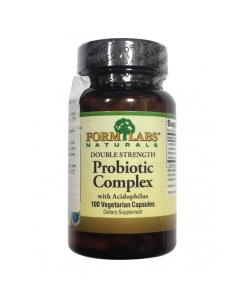Form Labs Naturals Double Strength Probiotic Complex (100 капсул, 100 порций)
