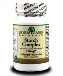 Form Labs Starch Complex with Phase 2 Starch Neutralizer (60 таблеток)