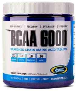 Gaspari Nutrition BCAA 6000 (180 таблеток, 30 порций)