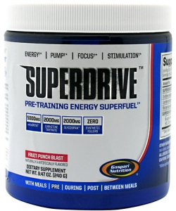 Gaspari Nutrition SuperDrive (240 грамм)