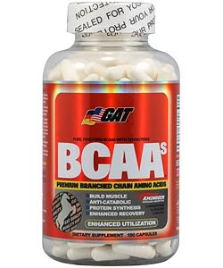 GAT BCAA (180 капсул, 30 порций)