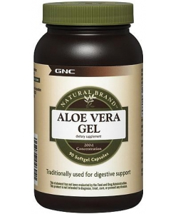 GNC Aloe Vera Gel (90 капсул, 90 порций)
