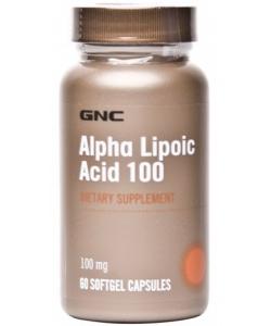 GNC Alpha Lipoic Acid 100 mg (60 капсул, 60 порций)