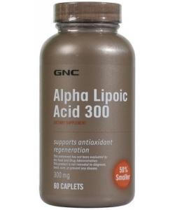 GNC Alpha-Lipoic Acid 300 mg (60 капсул, 60 порций)