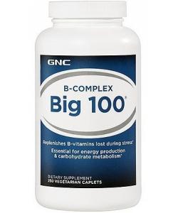 GNC B-Complex Big 100 (250 капсул)