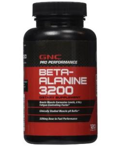 GNC Beta-Alanine 3200 (120 капсул)