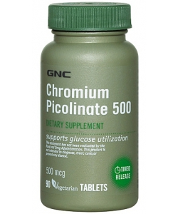 GNC Chromium Picolinate 500 (90 таблеток)