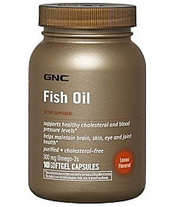 GNC Fish Oil (180 капсул)