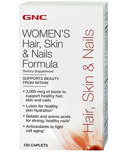 GNC Hair, Skin & Nails Formula (120 капсул)