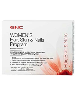 GNC Hair, Skin & Nails Program (30 пак.)