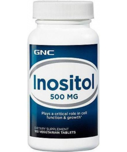 GNC Inositol 500 (100 таблеток, 100 порций)