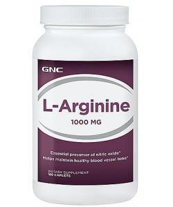 GNC L-Arginine (180 таблеток, 180 порций)