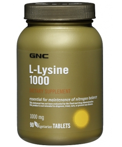 GNC L-Lysine 1000 (90 таблеток)