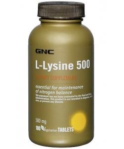 GNC L-Lysine 500 (100 таблеток)