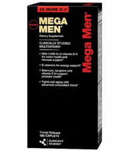 GNC MEGA MEN (180 капсул)