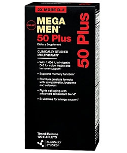 GNC Mega Men 50 Plus (120 капсул)