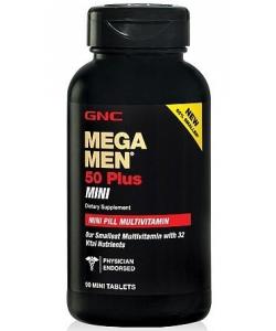 GNC MEGA MEN 50 Plus MINI (90 таблеток, 45 порций)